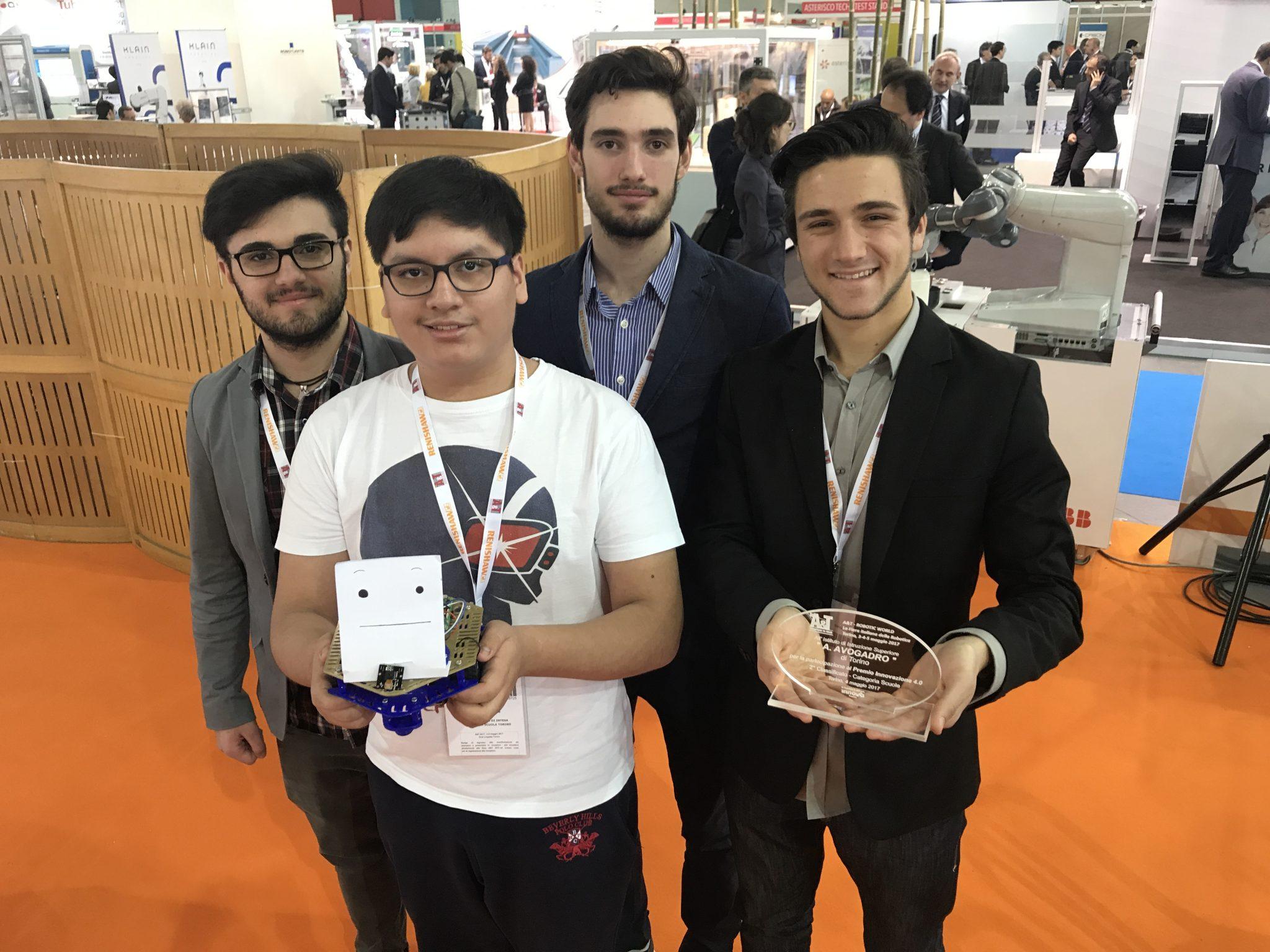 ITIS Avogadro vince il Premio Innovazione 4.0